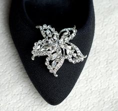 Bridal Shoe Clips Crystal Rhinestone Startfish Shoe by LXdesigns, $49.00