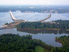In 1947, John H. Kerr Dam was built by the US Army Corps of Engineers on the Roanoke River. 50,000 acres of water & 800 mile shoreline, Kerr Lake also holds the World Record for the largest Blue Catfish caught! Is Clarksville Lake Country Chamber of Commerce's nomination the #8thWonderoftheWorld? Vote at www.virtualtourist.com/8thwonder