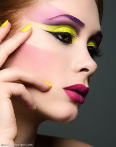 Mary li photographic fashion shoot makeup so hot i luv photography colorful Beauty Art, Diy Beauty, Beauty Skin, Beauty Women, Beauty Makeup, Eye Makeup, Body Makeup, Makeup Art, Foto Fashion
