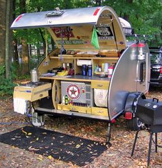Camping Without Hookups Small Camper Trailers, Off Road Camper Trailer, Trailer Diy, Small Trailer, Small Campers, Cool Campers, Rv Trailers, Camping Trailers, Travel Trailers