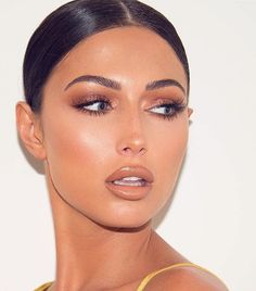 Bronze Make-up - Prom Makeup Looks Day Makeup, Skin Makeup, Makeup Inspo, Makeup Inspiration, Makeup Tips, Beauty Makeup, Makeup Looks, Makeup Ideas, Flawless Makeup