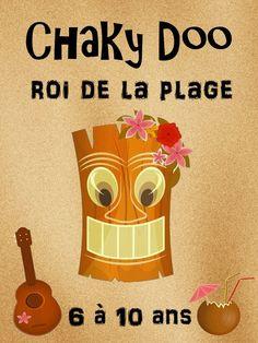 Chaky Doo, roi de la plage : chasse au trésor pour s'amuser à la plage !