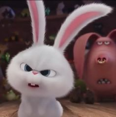 Cute Bunny Cartoon, Cute Cartoon Pictures, Baby Animals Pictures, Cute Baby Animals, Cute Disney Wallpaper, Wallpaper Iphone Cute, Cute Cartoon Wallpapers, Snowball Rabbit, Tom And Jerry Memes