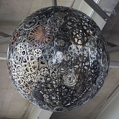 Bike Chandelier | 23 Borderline Genius Ways To Upcycle Your  Junk -- With Watch Parts!!!