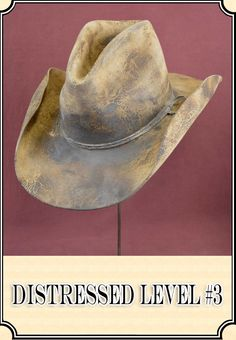 River Junction Trade Company Cowboy Hat Antiquing and Distressing Custom Cowboy Hats, Western Hats, Western Style, Cowboy Hat Styles, Redneck Clothes, Fall Hats, Crazy Hats, Fedora Hat, Bowler Hat