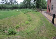 The grassland is longer and receives a lighter management treatment