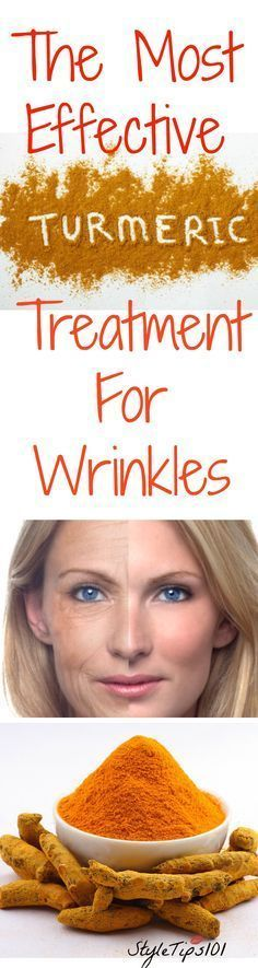 Find out how to use turmeric for wrinkles! Fast, efficient, and very effective!