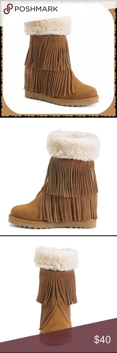 Madden Girl Fringe Boot Madden Girl Fringe Boot. Brand New Never Worn.  No Pay Pal  No Trades  Madden Girl Shoes Ankle Boots & Booties