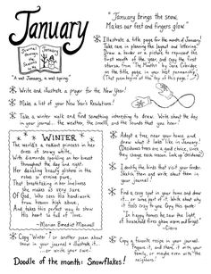 Nature journaling through the seasons - monthly nature journal guides January Journal Prompts, Journal Writing Prompts, Journal Pages, Journals, Journal Ideas, Journal Art, Bujo, Creative Journal, Nature Journal