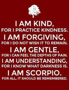 Scorpio depth