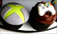 look at these cool as Xbox cupcakes