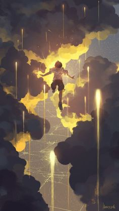 Find images and videos about anime, anime boy and scenery on We Heart It - the app to get lost in what you love. Art And Illustration, Illustrations, Kunst Inspo, Art Inspo, Fantasy Kunst, Fantasy Art, Anime Kunst, Anime Art, Wow Art