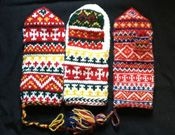 Saami MIttens!  I'll be teaching this class at Interweave Lab in Manchester NH in May 2014!