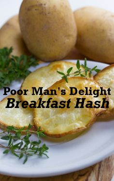 If you are short on time or ingredients, try this Poor Man's Delight Recipe for customizable, homemade breakfast hash by Andrea Williams.
