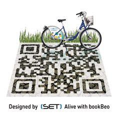 QR Code designé pour le service Le vélo STAR (Kéolis Rennes). Qr Code Business Card, Qr Codes, Mobile Marketing, 2d, Geek Stuff, Coding, Service, Learning, Tweed