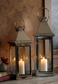 I have a lantern obsession.  They add romance and rustic style to any room.