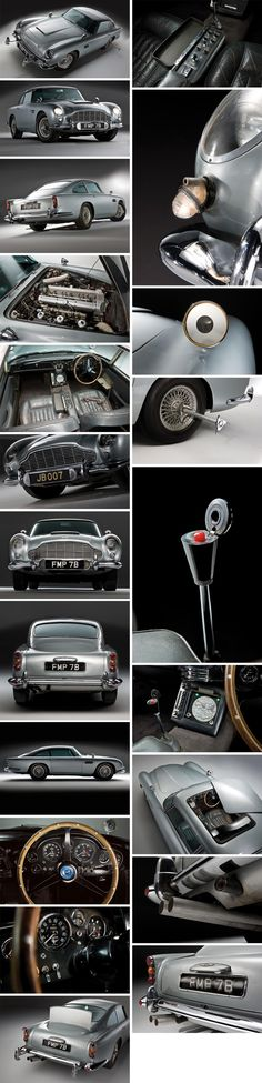 DB5 (James Bond) - Aston Martin 1964