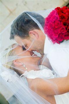 Cute Wedding Photography: #bride and #groom  More Wedding Ideas at www.facebook.com/villasiena