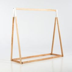 If you're looking for extra storage space or simply looking to display your little one's wardrobe, our wooden clothing racks have got you covered!
