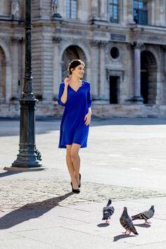 Robe Augustine - Sophie Rive Droite Marque de prêt à porter en édition limitée et 100% Made in France.