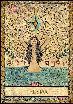 Samiramay Tarot - The Star #tarotcardsdiy #tarotcards&inspiration