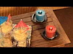 PartyLite lights up your life (IT) Bougie Partylite, Candle Jars, Light Up, Barware, Comme, Spring, Winter, Candles, Accessories