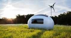 """Rüzgar ve Güneş Enerjisiyle Çalışan """"Eko-Kapsül Evler"""" - http://www.aylakkarga.com/ruzgar-gunes-enerjisiyle-calisan-eko-kapsul-evler/"""
