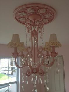 Ceiling Medallions by Marie Ricci traditional children lighting