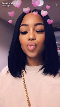 Beautiful straight bob wigs for black women lace front wigs human hair wigs. Click picture to see Black Girls Hairstyles, Bob Hairstyles, Straight Hairstyles, Virtual Hairstyles, Short Haircuts, Medium Hair Styles, Natural Hair Styles, Short Hair Styles, Remy Human Hair