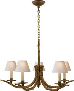 For the bedroom, a branch light