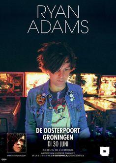 Dertien jaar is het sinds het laatste optreden van Ryan Adams in De Oosterpoort. Dinsdag 30 juni is het eindelijk weer zover!
