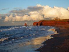 Seaview Shore, PEI. Photo by Bernadeta Milewski