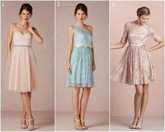 Hoy queremos arrancar la semana con un duelo de looks del civil en colores pastel imperdible!! Vos cuál vestido de BHLDN elegirías??
