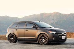 matte black ford edge