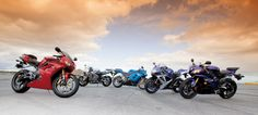 Honda CBR600RR vs. Kawasaki ZX-6R vs. Suzuki GSX-R600 vs. Triumph Daytona 675 vs. Yamaha YZF-R6 Comparison Review | Cycle World