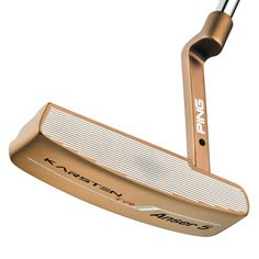 PING Karsten TR (True Roll) putters offer variable-depth grooves precision-milled into the face of the stainless steel head to improve ball-speed consistency for unmatched distance control. Buy Now at PGA TOUR Superstore! Ping Golf Clubs, Products, Gadget