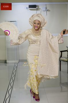Latest Gele and Turban Styles 2018 and African appearance African Dresses For Women, African Attire, African Wear, African Fashion Dresses, African Women, African Beauty, African Outfits, Nigerian Wedding Dress, Nigerian Dress
