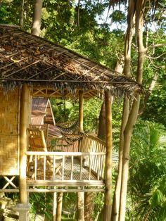 Bamboo huts, Ko Phi Phi Don. #thailand #beachfront #backpacking
