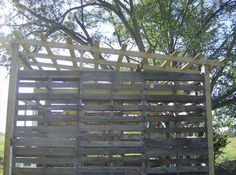 DIY Storage Shed From Pallets   99 Pallets
