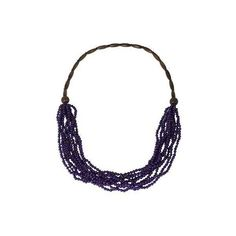 NOVICA Artisan Crafted Purple Wood Necklace from Thailand (£15) ❤ liked on Polyvore featuring jewelry, necklaces, purple, strand, wood necklace, statement necklace, beaded statement necklace, wood jewelry and wooden bead necklace