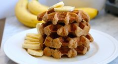 These light and fluffy Paleo Banana Coconut Waffles are dairy-free, gluten free, grain-free and naturally sweetened.