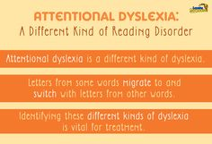 Scientists have discovered a variation on dyslexia which causes similar, but different symptoms.