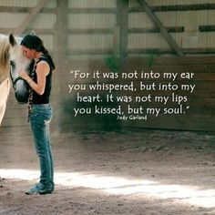 ...you whispered into my heart and my life was changed forever. This horse eve looks a little like my gelding. He is such a big boy but so gentle and respectful.