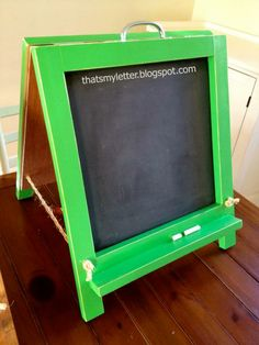 tabletop chalkboard easel   Do It Yourself Home Projects from Ana White