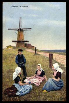 Postcard Photochromie♥ D & N Serie 165 Nr. 2965, Zeeland