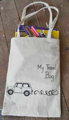 mycreativedays: Travel Activity Bag For Kids