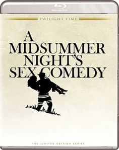 A Midsummer Night's Sex Comedy - Blu-Ray (Twilight Time Ltd. Region A) Release Date: August 11, 2015 (Screen Archives Entertainment U.S.)