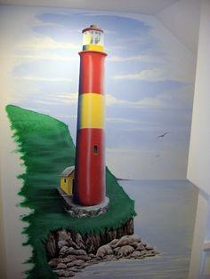 Airbrush mural - Jeff Ervin