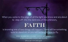 Have a little more faith today ♥  Quote by David Cook  Artwork by Androidworkshop
