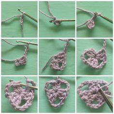 atty's: Gehaakte vlaggetjes/crochet bunting